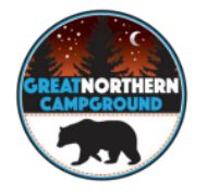 Logo Great Northern Campground Wisconsin
