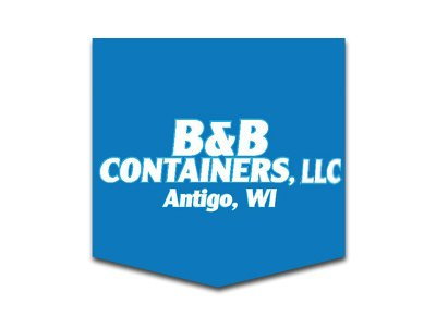 Logo B&B Containers Antigo WI